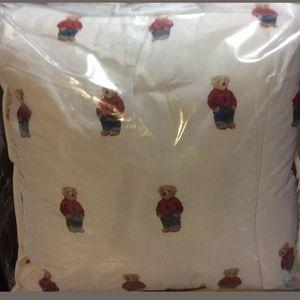 New Ralph Lauren Polo Bear F/Q 3pc comforter set